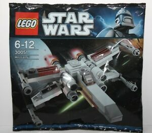 LEGO-30051-Mini-X-Wing-SEALED-STAR-WARS-polybag