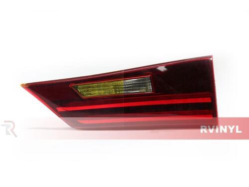 Rtint Tail Light Tint Precut Smoked Film Covers for Cadillac CTS 2008-2013 Sedan