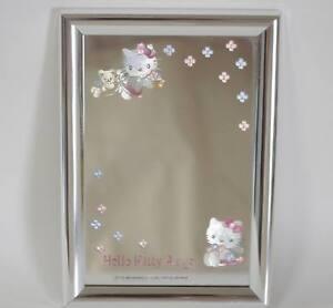 Hello-Kitty-Stand-mirror-Angel-1998-Rare-Kawaii-Sanrio-Japan