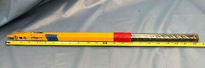 """Generous Dewalt Rock Carbide 11/16"""" X 21 ½"""" Sds Max Rotary Hammer Drill Bit Nib V2 Light Equipment & Tools Drills & Hammers"""