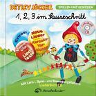 1,2,3,Im Sauseschritt (LiederbuchCD) von Detlev Jöcker (2015, CD)