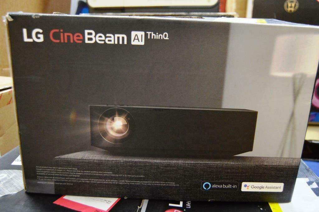 LG HU70LAB 4K UHD LED Smart Home Theater CineBeam Projector ONLY 250 HOURS USED. Available Now for 1199.00