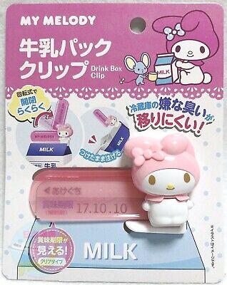 SANRIO My Melody KAWAII BENTO Drink Milk Paper Box Clip Open Close Freely  JAPAN | eBay