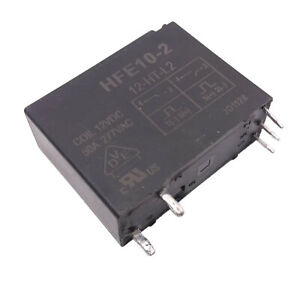 US-Stock-HFE10-2-12-HT-L2-Miniture-High-Power-Latching-Relay-50A-277VAC