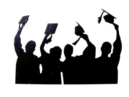 Graduate ImO Any Colour//Card! 8 Graduation Day Die Cuts