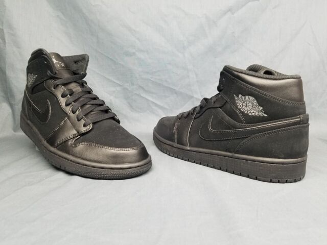 321b7a21b21296 Nike Men s Sz 11 Air Jordan 1 Mid Retro Basketball Shoes 554724 049 ...