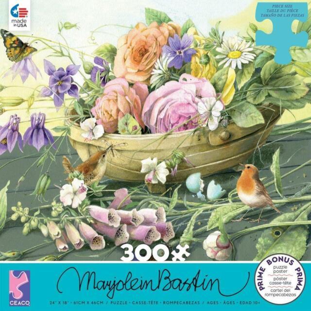 CEACO JIGSAW PUZZLE FLORABUNDA MARJOLEIN BASTIN 300 PCS #2236-10