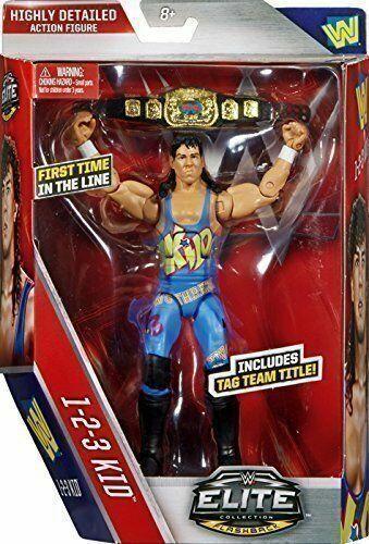 WWE 123 niño serie 1-2-3 Elite Cinturón Accesorios MATTEL LUCHA LIBRE FIGURA DE ACCIÓN