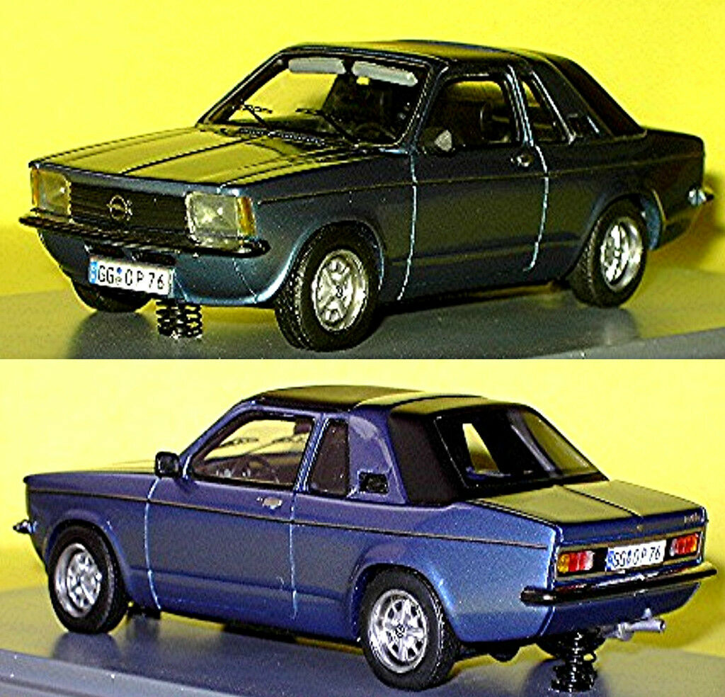 Opel Kadett Aero blue blue metallic 1 43 Neo Scale Models