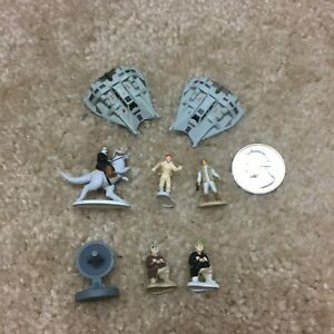 IC MICRO MACHINES STAR WARS loose lot Army builder Rebel HOTH RARE SOLO tauntaun