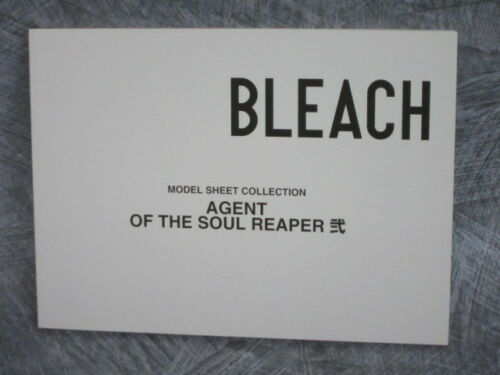 Kubo Original Drawing Art Book BLEACH Model Sheet Collection Soul Reaper 2 T