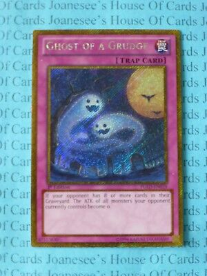 Gold Secret NM-M Ghost Of A Grudge Yugioh Unlim PGLD-EN029