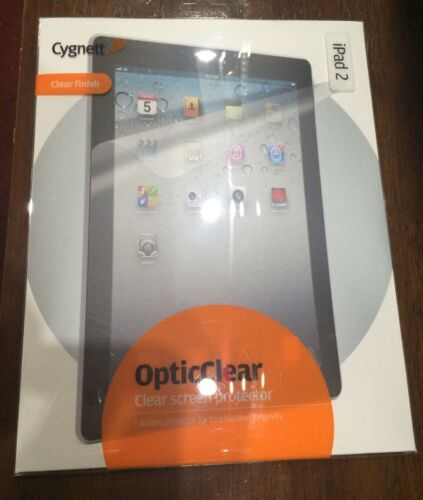 Cygnett Opticlear iPad 2//3//4 Screen Protector Antiglare Easy To Fit UK STOCK