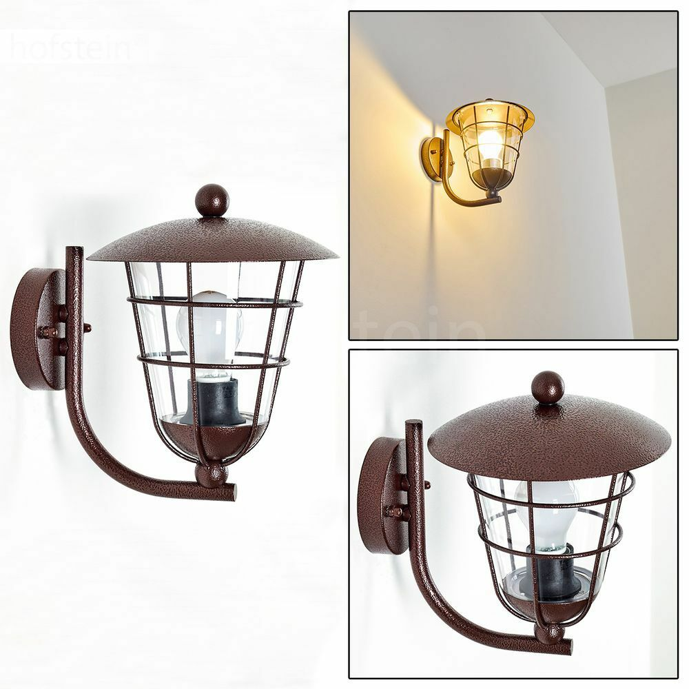 Applique moderne Lampe murale Luminaire extérieur Spot Lampe de jardin en métal