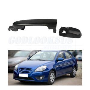 2006-2011 For Hyundai Accent Primed Black Outside Door Handle Rear Left