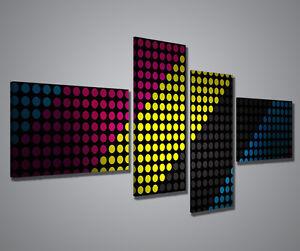 Gemaelde-Moderne-3D-Abstract-Dark-Bild-160x70-cm-Drucke-auf-Leinwand-Einrichtung