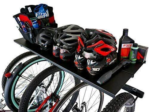 Garage Wall Mount Storage Shelf Holds 5 Bicycles StoreYourBoard Bike Rack