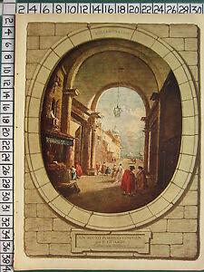C1930-Francese-Stampa-L-039-Illustrazione-Sotto-Portico-Veneziano-Wallace