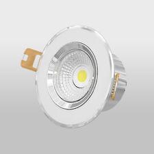7W CREE COB LED Einbaustrahler 600lm warmweiß 2700K LED Einbauleuchte rund 230V