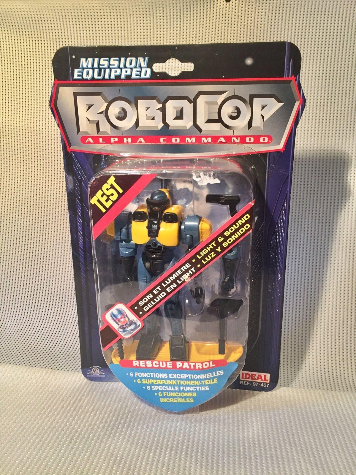 1998 robocop alpha - kommando - rettungs - patrouille selten - minze auf der karte - moc -