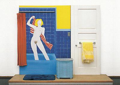 3 Badewanne No Postkarte Tom Wesselmann