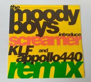"VINYL LP 12"" Single The Moody Boys What Is Dub Screamer KLF Appollo 440 Remixes"