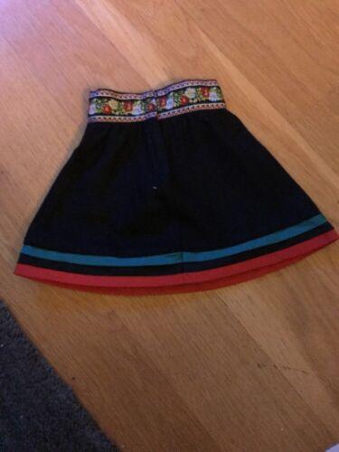 American Girl Doll Kirsten Skating Skirt Brand New