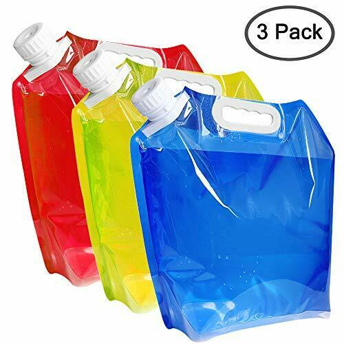 maxin 5 Litres Collapsible Water Container,BPA Free Plastic Water Carrier
