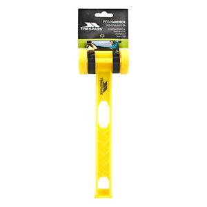 Trespass-Pegisu-Tent-Peg-Mallet-Plastic-Camping-Hammer-Puller-Lightweight