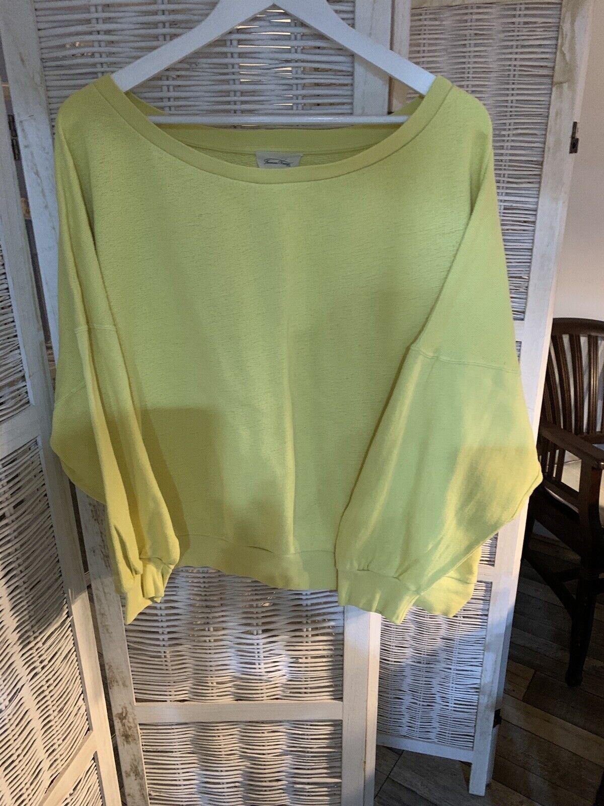 American Vintage Yellow Sweatshirt