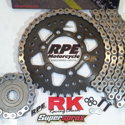 2008-16 CBR1000rr RK GXW 520 OEM Ratio 16//42 Chain and Sprocket Kit
