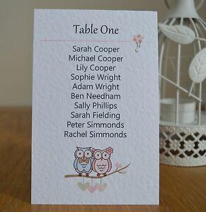 Wedding-Table-Seating-Plan-Tags-Personalised-Owl-bride-amp-groom