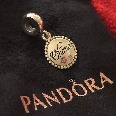 New Rare Bonus 1 Pandora Hawaii Ohana Means Family Hibiscus