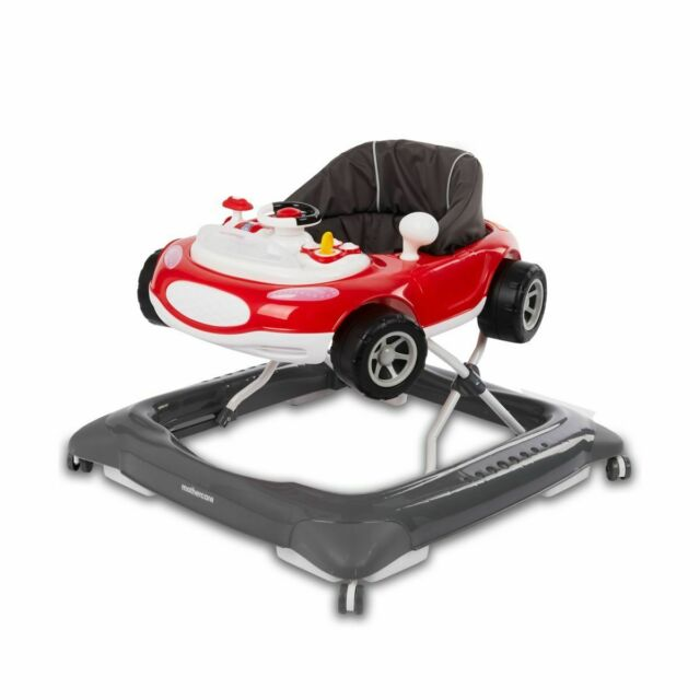 My Child Coupe Walker//Rocker With Musical Play Tray Pink