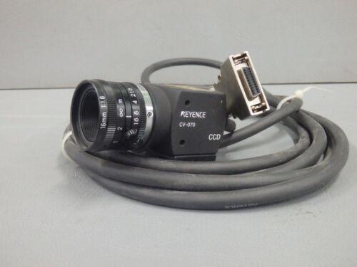 CV-070 KEYENCE Camera video color  USED CV070