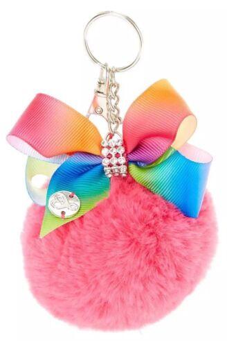 JoJo Siwa Pink Pom with Rainbow