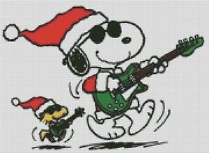 image is loading cross stitch chart pattern snoopy woodstock christmas xmas - Snoopy And Woodstock Christmas