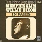 Memphis Slim & Willie Dixon in Paris by Memphis Slim/Willie Dixon (CD, Jun-1996, Original Blues Classics)
