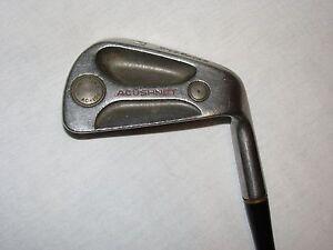 Mens-RH-Titleist-AC-108-Tungsten-Pitching-Wedge-PW-Steel-Golf-Club-Acushnet