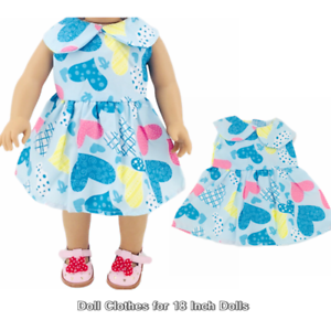 Doll Clothes-fit Mini American Girl Boy My Life-Top /& Pants-Both Lt Blue