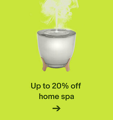 Up to 20% off home spa