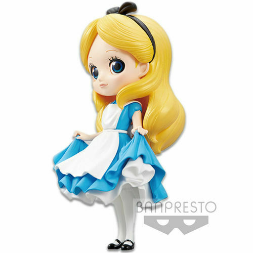 Disney Characters Q Posket Alice Paese Meraviglie A Normal Color PVC Figure