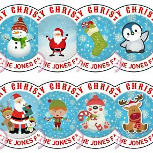 Personalised-Christmas-Stickers-From-Father-Christmas-Santa-Present-Labels-Elf