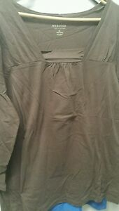 Sonoma Brown 3/4 lenght T-shirt