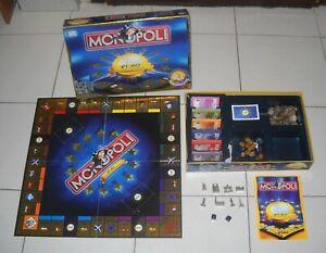 Monopoly Euro Celebratory Edition - Editrice Giochi 1999 Monopoly Europa