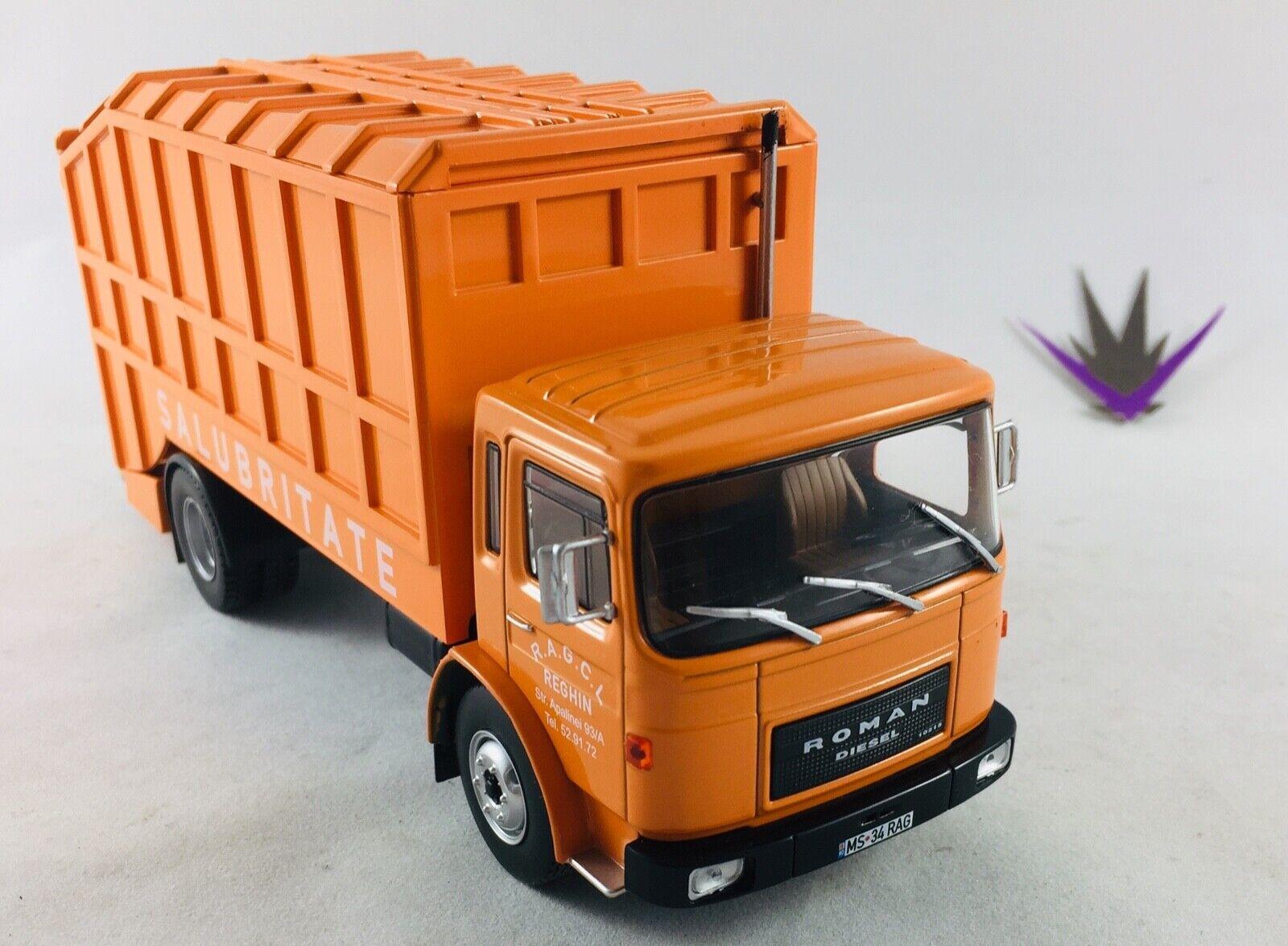 Ixo Camión Roman Diesel Basura 1 43