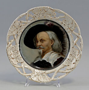 8140040-Porcelain-Image-Plate-hand-painted-Bohemia-19-Jackson