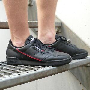 Details zu Adidas Originals Continental 80 Schuhe Sneaker Herren G27707 Schwarz