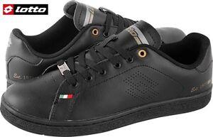 Scarpe-Uomo-sportive-sneakers-basse-passeggio-LOTTO-1973-III-LTH-Ecopelle