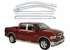 AVS 684109 Chrome Vent Visors For 2009-2017 RAM Crew Cab New Free Shipping USA